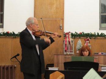 проф. Йосиф Радионов и съпругата му Зорница Радионова, клавир